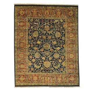 Oversize Rajasthan Thick and Plush Hand-knotted Rug (11'10 x 15')