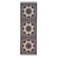 Wool and Silk Persian Esfahan 500 kpsi Handmade Rug (4'2 x 12'8)