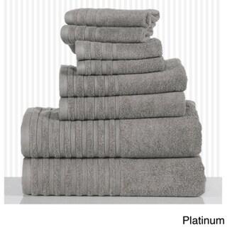 Casa Platino Combed Soft Cotton 600 GSM 8-piece Towel Set
