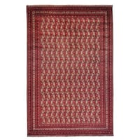 Afghan Khamyab Oriental Hand-knotted Rug Oversize - 12'10 x 19'7