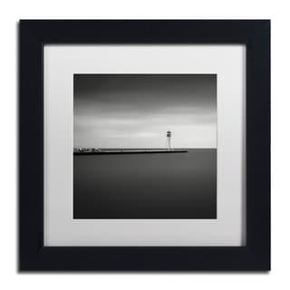 Dave MacVicar 'Erieau 1' Canvas Framed Art