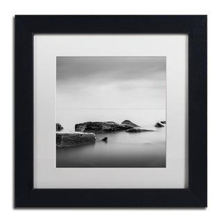 Dave MacVicar 'Breakwater' Canvas Framed Art