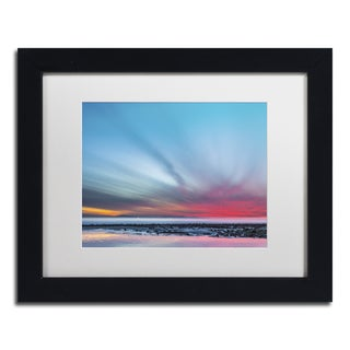 Chris Moyer 'Last Light' Canvas Framed Art