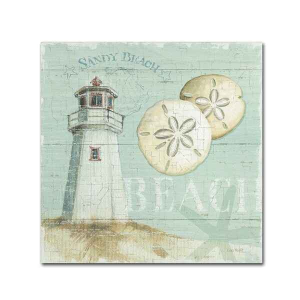 Lisa Audit 'Beach House I' Canvas Art