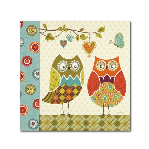 Lisa Audit 'Owl Wonderful I' Canvas Art