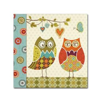 Lisa Audit 'Owl Wonderful I' Canvas Art