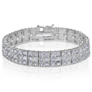 DB Designs Diamond 1ct TDW Miracle Set 3-Row Tennis Bracelet|https://ak1.ostkcdn.com/images/products/10226729/P17347730.jpg?impolicy=medium