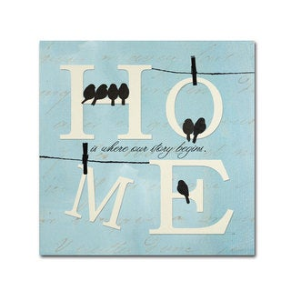 Pela Studio 'Well Said II' Canvas Art