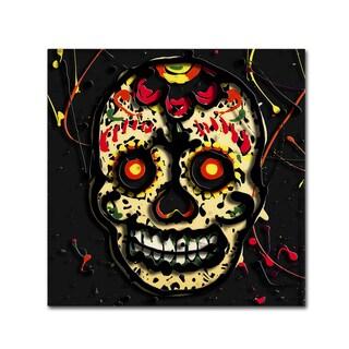 Roderick Stevens 'Muertos 2' Canvas Art