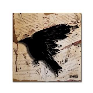 Roderick Stevens 'The Raven 3' Canvas Art