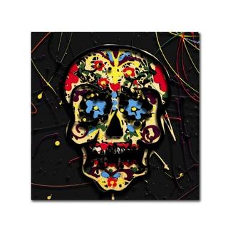 Roderick Stevens 'Muertos 3' Canvas Art