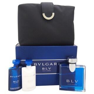 Bvlgari Blv Men's 4-piece Gift Set