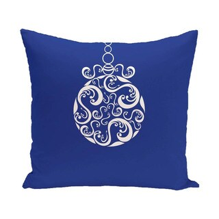 Blue/ Red/ Grey/ Green Decorative Holiday Print 18-inch Pillow