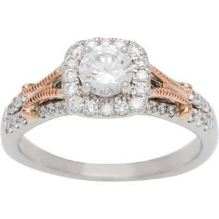 Boston Bay Diamonds 14k White Gold 4/5ct TDW Diamond Engagement Ring (G-H, SI1-SI2)
