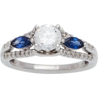 Boston Bay Diamonds 14k White Gold 1ct TDW Diamond Filigree Design Engagement Ring (G-H, SI1-SI2)