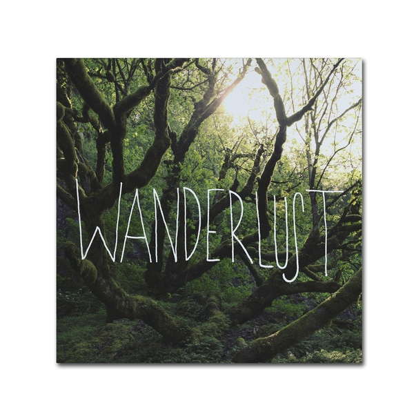 Leah Flores 'Wanderlust' Canvas Art - Multi