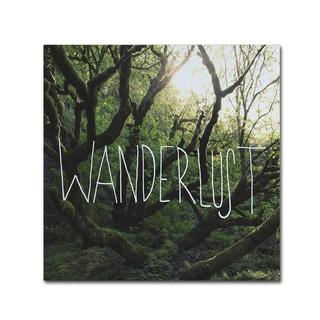 Leah Flores 'Wanderlust' Canvas Art