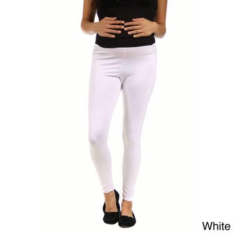 24/7 Comfort Apparel Women's Maternity Ankle-length Leggings
