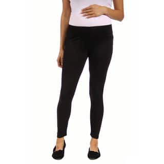 24/7 Comfort Apparel Women's Maternity Ankle-length Leggings|https://ak1.ostkcdn.com/images/products/10227132/P17348226.jpg?impolicy=medium