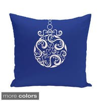 Blue/ Red/ Grey/ Green Decorative Holiday Pattern 20-inch Pillow