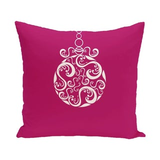 Blue/ Red/ Grey/ Green Decorative Holiday Print 26-inch Pillow (Option: Pink)