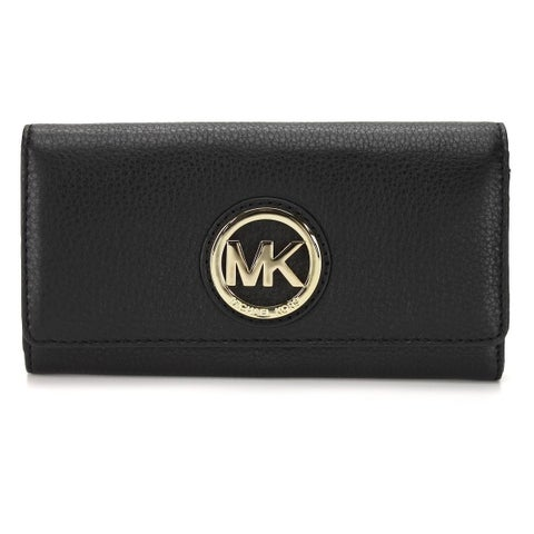 Michael Kors Fulton Black Carryall Wallet