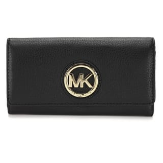 Michael Kors Fulton Black Carryall Wallet|https://ak1.ostkcdn.com/images/products/10227265/P17348164.jpg?impolicy=medium