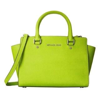 Michael Kors Selma Pear Medium Satchel Handbag