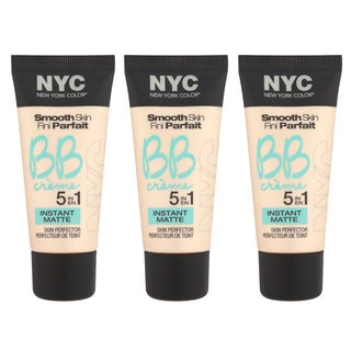 N.Y.C. New York Color BB Creme Foundation Matte (Pack of 3)