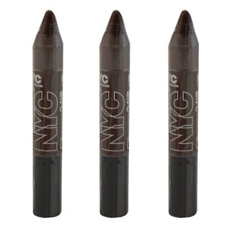 N.Y.C. City Proof 24 Hour Wall Street Bronze Eye Shadow (3 Pack)