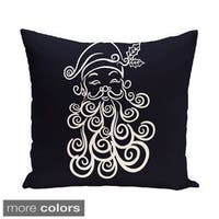 Blue/ Red/ Grey/ Green Decorative Holiday Pattern 20-inch Accent Pillow