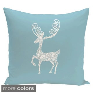 Blue/ Red/ Grey/ Green Decorative Holiday Animal Print  26-inch Pillow
