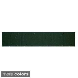Red/ Green Decorative Holiday Geometric Print 16 x 90-inch Table Runner
