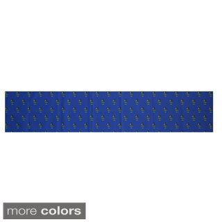 Blue/ Red/ Green/ Purple Decorative Holiday Pattern 16 x 90-inch Table Runner