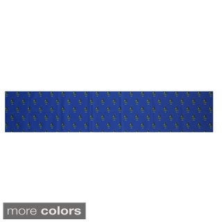 Blue/ Red/ Green/ Purple Decorative Holiday Pattern 16 x 90-inch Table Runner (5 options available)