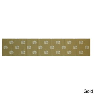 Blue/ Red/ Grey/ Green/ Yellow Decorative Holiday Print 16 x 90-inch Table Runner