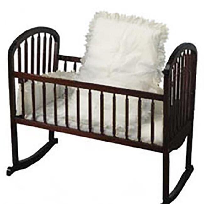 Baby Doll White Eyelet Cradle Bedding (White Eyelet, Size...