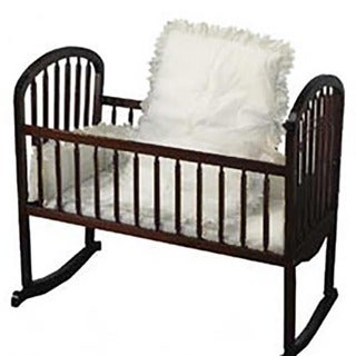 Baby Doll White Eyelet Cradle Bedding