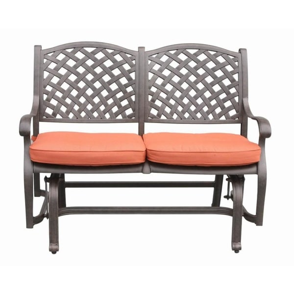 Bench Glider With Cushions Free Shipping Today 10227419