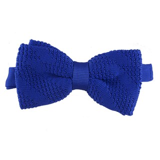 Elie Balleh Milano Italy Boys' Textured Bow Tie (Option: Blue)