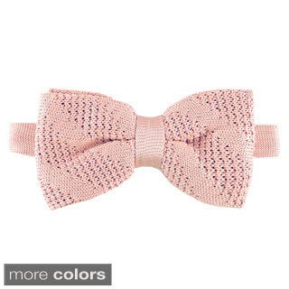 Elie Balleh Milano Italy Boys' Textured Bow Tie (More options available)