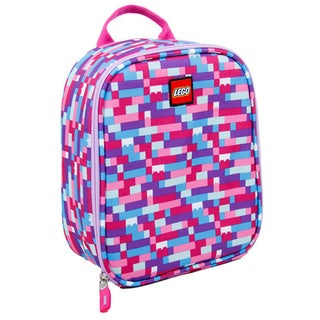 LEGO Brick Pink/ Purple Vertical Lunch