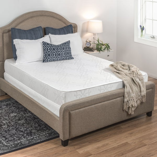 shop select luxury 6 inch full size airflow double sided foam mattress free shipping today. Black Bedroom Furniture Sets. Home Design Ideas