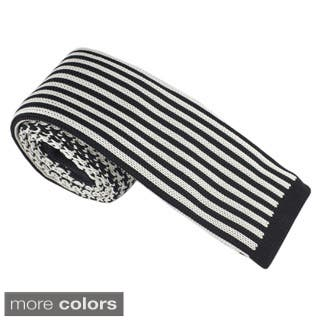 Elie Balleh Milano Italy Boys' Knit Stripe Neck Tie|https://ak1.ostkcdn.com/images/products/10227617/P17348514.jpg?impolicy=medium