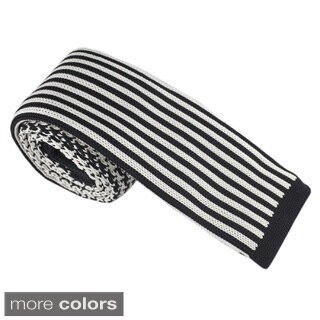 Elie Balleh Milano Italy Boys' Knit Stripe Neck Tie (More options available)