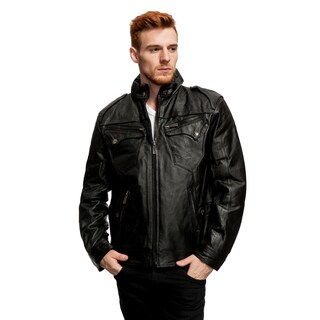 Men's Leather Jacket (3 options available)