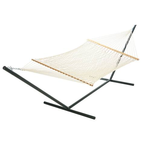 Large Whie Polyester Rope Hammock