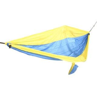 Blue/ Gold Parachute Hammock