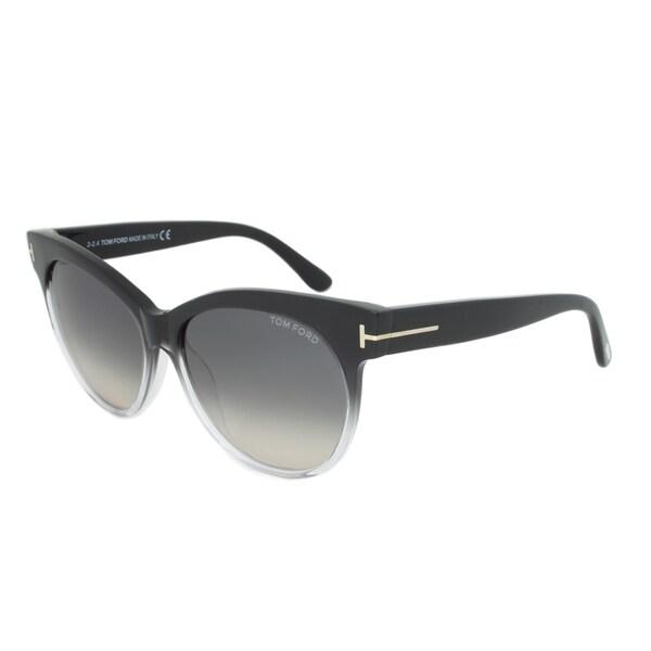81f098386e54e Shop Tom Ford Womens TF 330 Saskia 05B Cat Eye Sunglasses - Free Shipping  Today - Overstock - 10227731