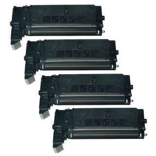 Replacing SCX-6320D8 Toner Cartridge for Samsung SCX-6220 SCX-6320F SCX-6322DN SCX-6520F 6122FN Printers (Pack of 4)